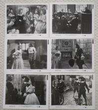 Forever Amber. 6 Original Movie Stills, Linda Darnell, Cornel Wilde, '47